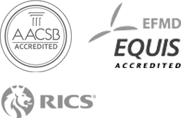 accredited by AACSB and EQUIS